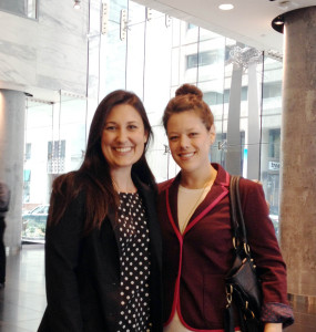 Mélanie Carter and Daniella D'Alimonte