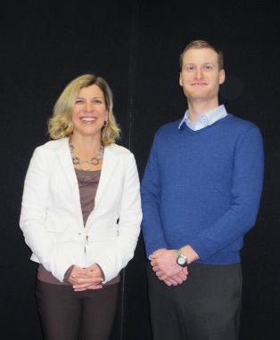Lora Rigutto and Ben Harrison