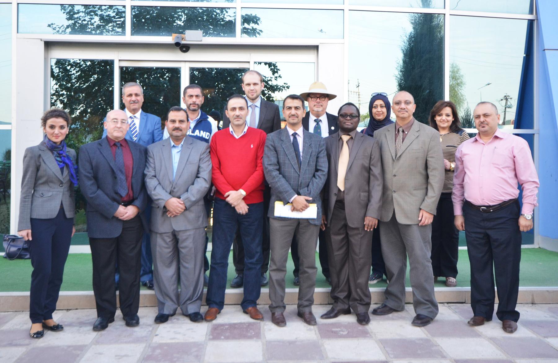Global Business Environment class in Erbil