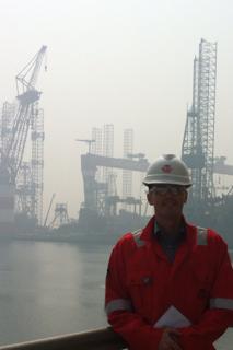 Rob Howard China Shipyard