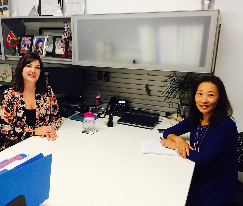FITT-ALDO Group Intern Caroline Zhang