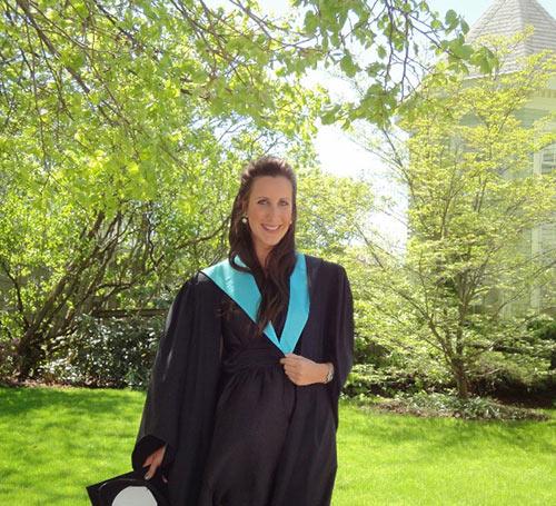 Lesley Vair Graduation 2011