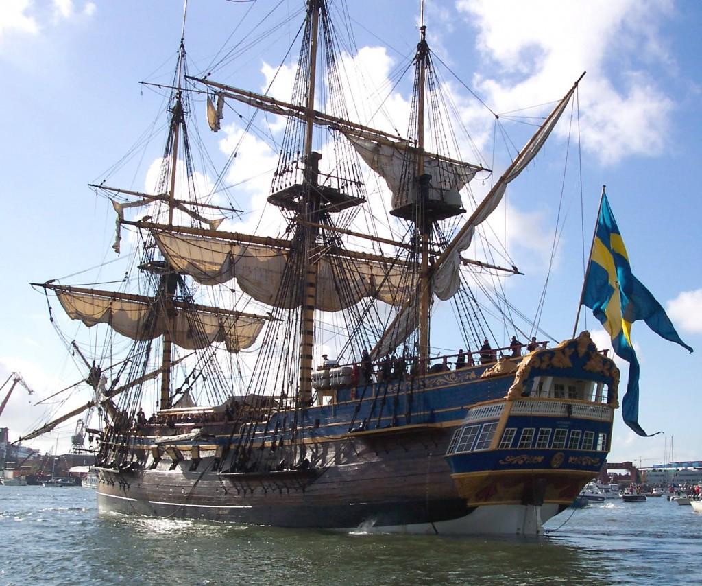 17th century trading ship