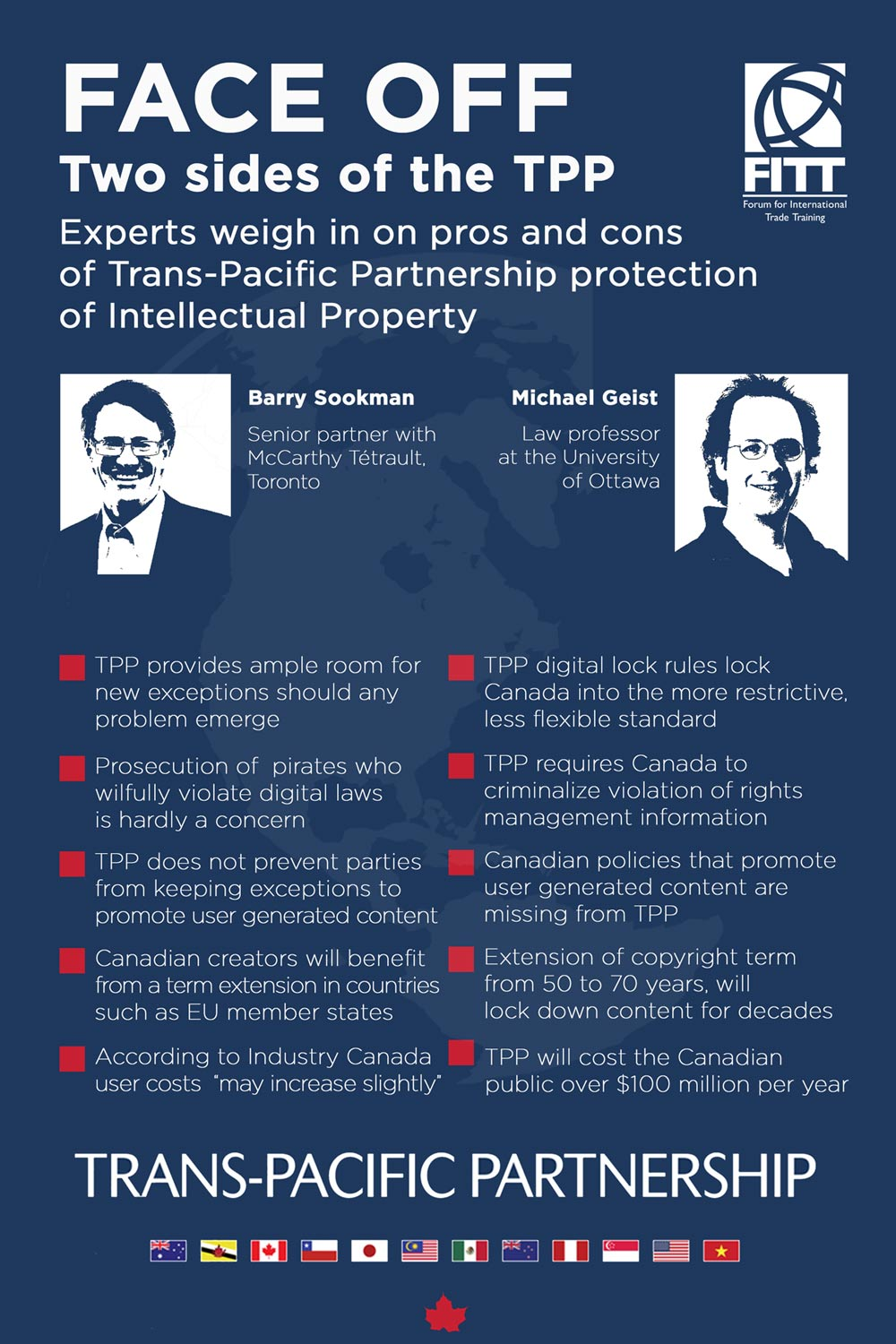 TPP intellectual property policies