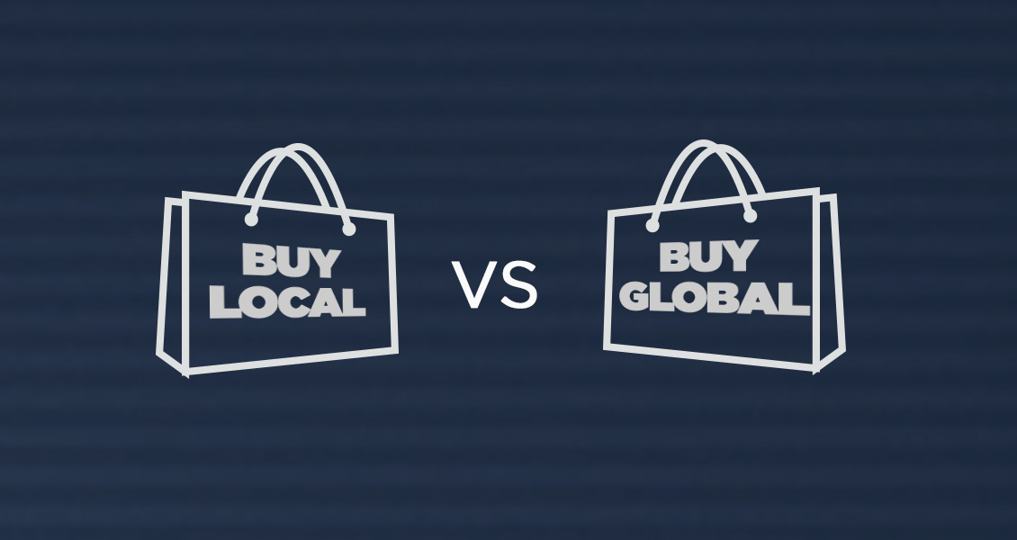 Faceoff: Buy Local VS Buy Global