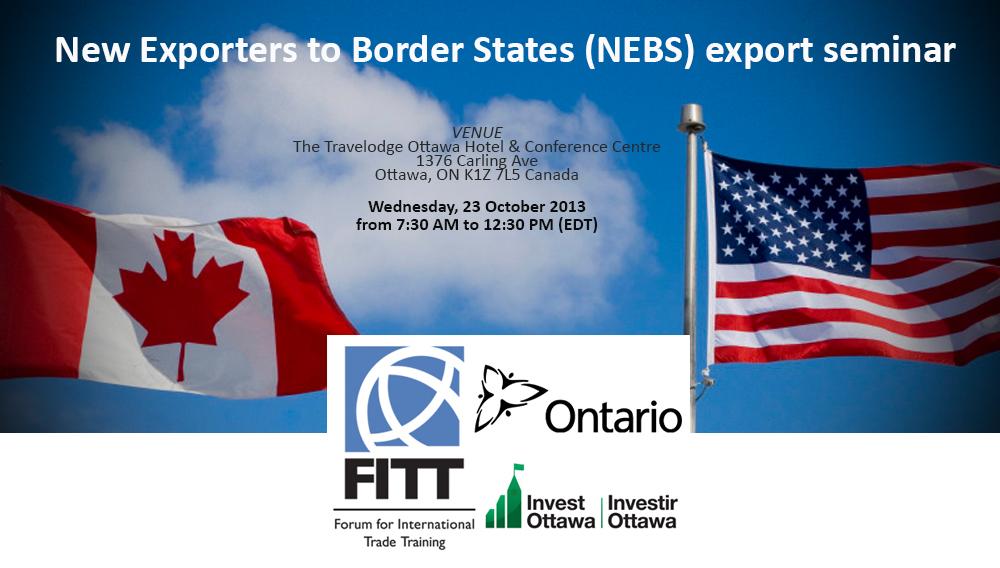 Highlights – Exporting to the USA seminar #nebsfitt #export2usa [from liveblog]