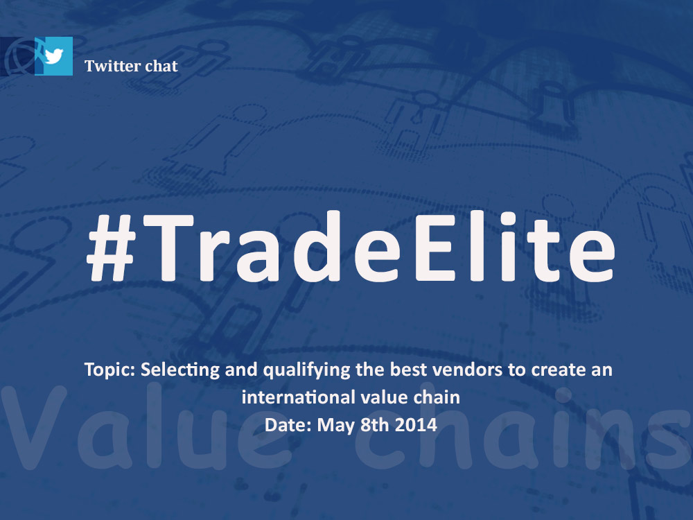 Next #TradeElite networking session & recap of why international trade is all about profit margins