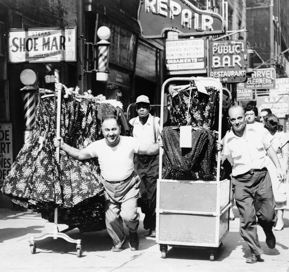 Garment District for One Hundred Years Ago article