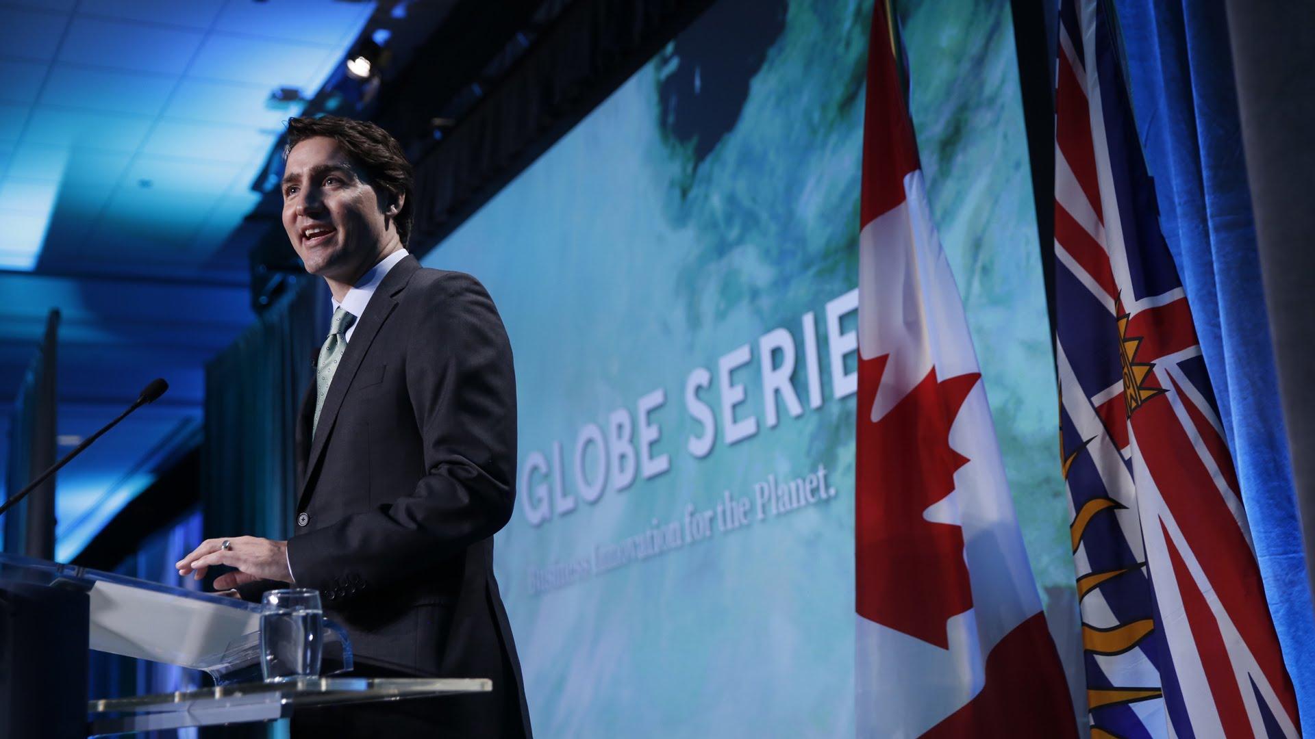 Trade show takeaways - PM Trudeau Globe 2016