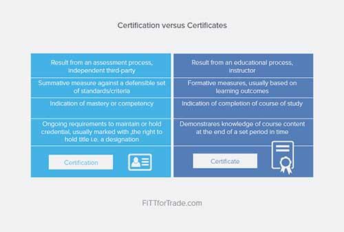 Certificate-Vs-Certification