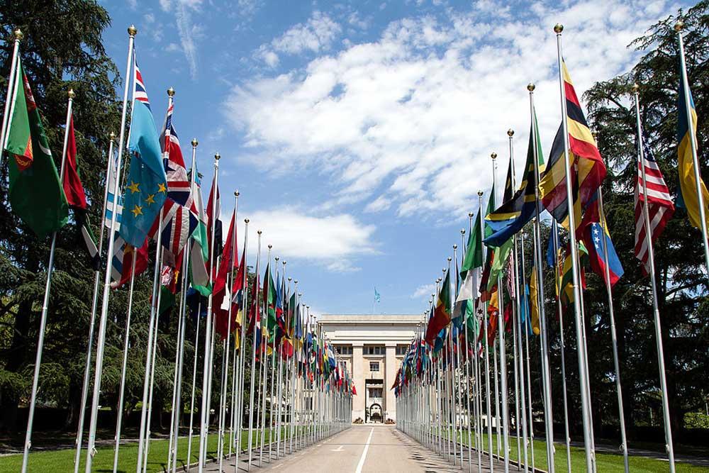 Palace of Nations UN, Geneva - international organizations