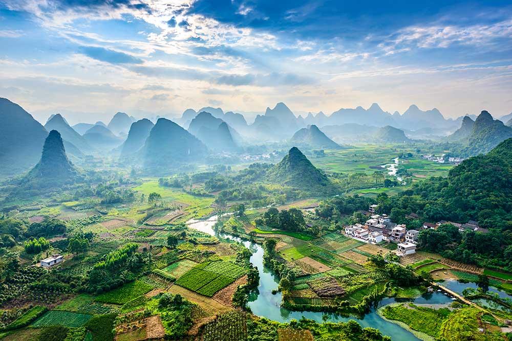 China self sufficient