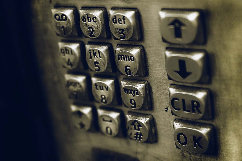 payphone buttons - service exports