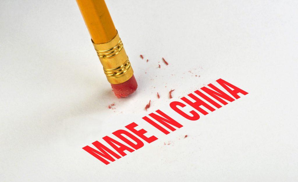Replacing China as major manufacturing countries