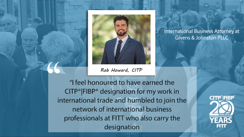 CITP Spotlight: Rob Howard – International Business Attorney