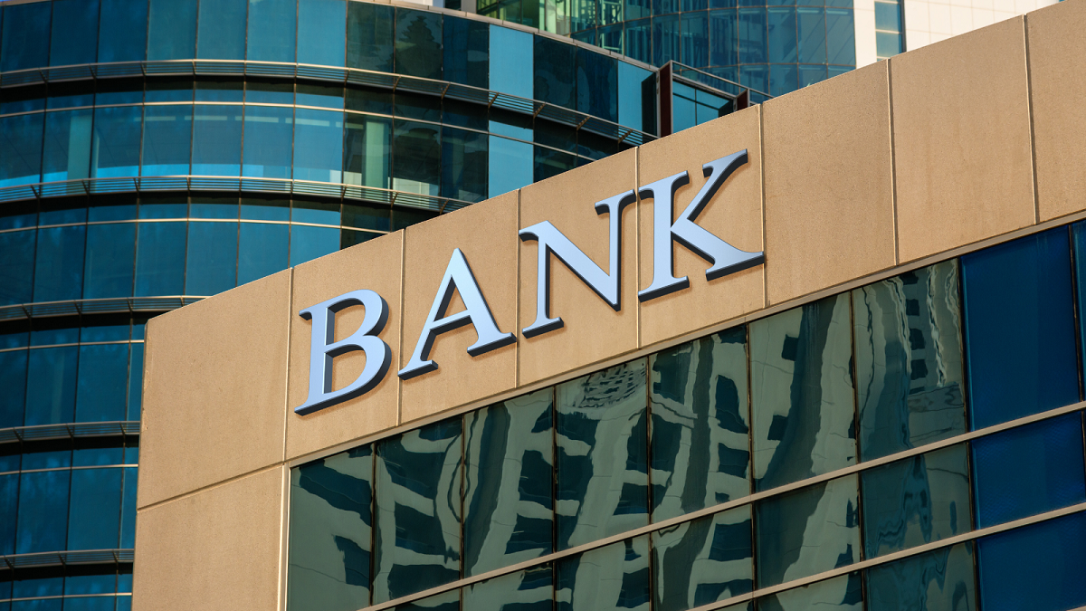 Outdoor Bank Sign