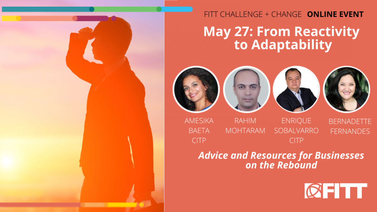 Event Recap: From Reactivity to Adaptability: Advice and Resources for Businesses on the Rebound