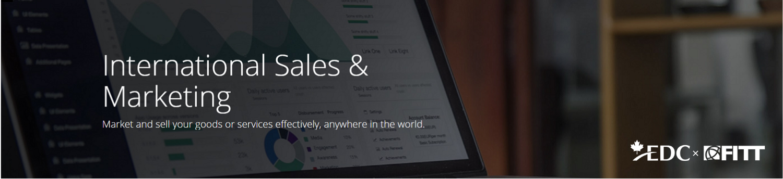 International Sales & Marketing FITTskills Training Course Image