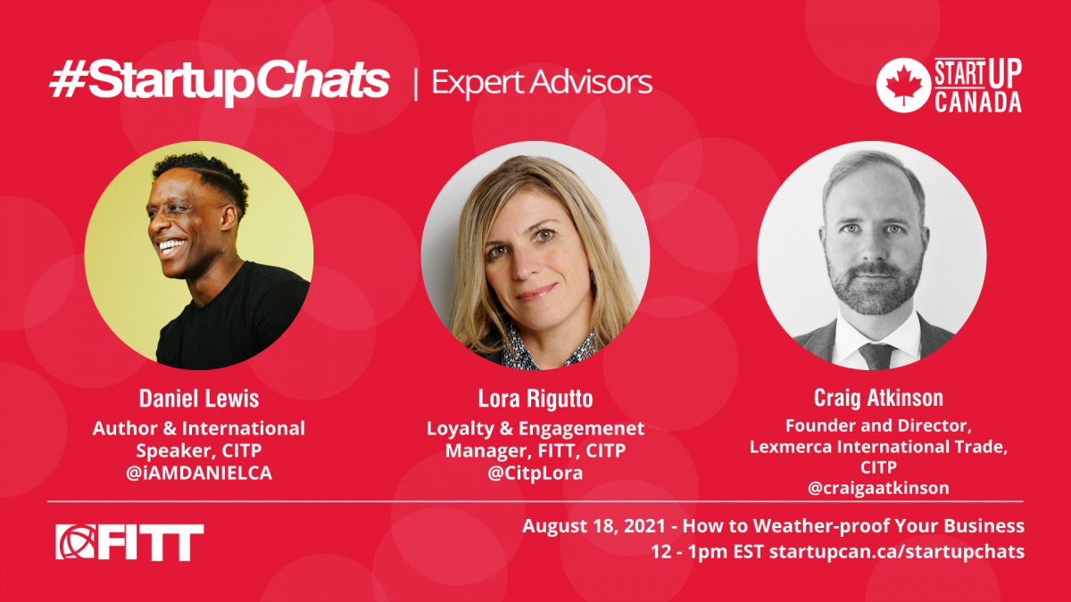 How to weather-proof your business: CITPs weigh-in with Startup Canada